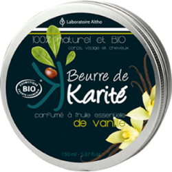 Beurre de Karité vanille