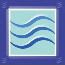 Symbole neutralisation compteur d'eau