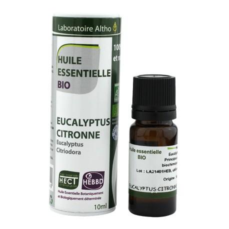 Huile essentielle Eucalyptus Citronne Bio