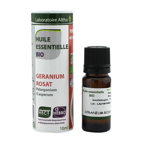 Huile essentielle Geranium Rosat Bio