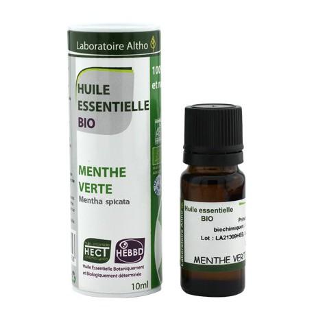 Huile essentielle Menthe Verte Bio