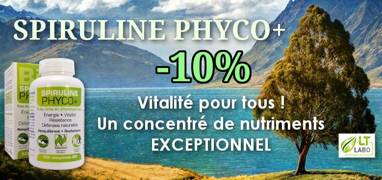 Spiruline -10%