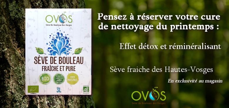 Sève de Bouleau des Hautes-Vosges