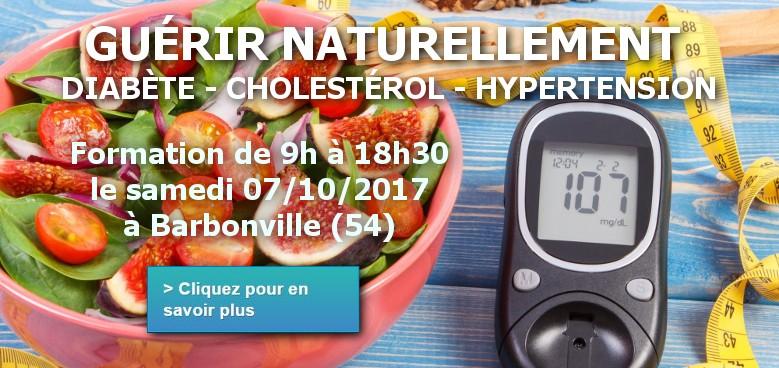 Événement guérir naturellement les maladies métaboliques (diabète, hypertension, cholestérol)